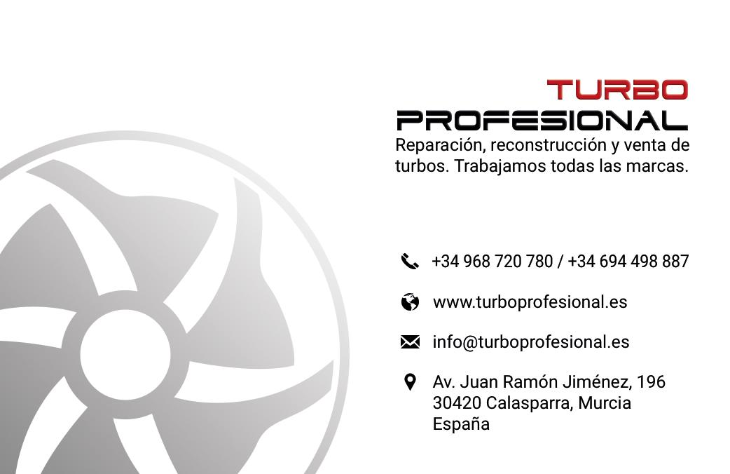Tarjeta turboprofesional